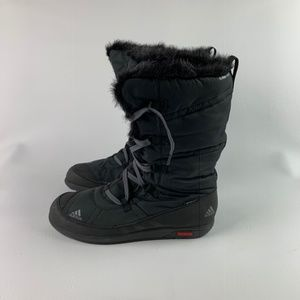 ADIDAS CHOLEAH LACE UP BOOTS  CP PL V22160